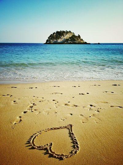 Arrabida Beach EyeEm Best Shots EyeEm Nature Lover Heart Ilovethesea Love People Of The Oceans Rocky Beach Sand Sandy Beach Tranquility