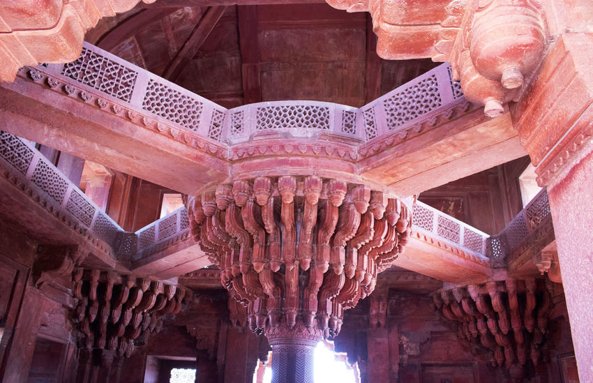 Diwan - I am Jaipur Diwan-i-Am Jaipur Architectural Column Architectural Feature Architecture Carving - Craft Product Ceiling Craft Day Low Angle View No People Rajasthan Travel Destinations
