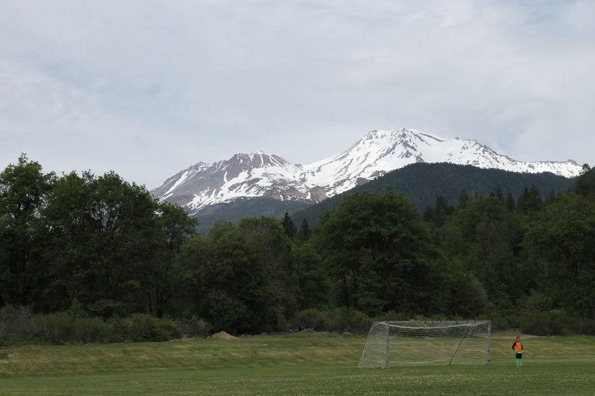 Mountshasta California Norcal Mountain Soccer Goalie America Beauty