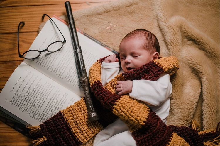 This Photo Is not By Me, but sadly The woman who took it doesn't have and Account, But my Baby Brother is a Model in the making.♥️⚡️ Baby Harry Potter Littlebrother Model In The Making♡