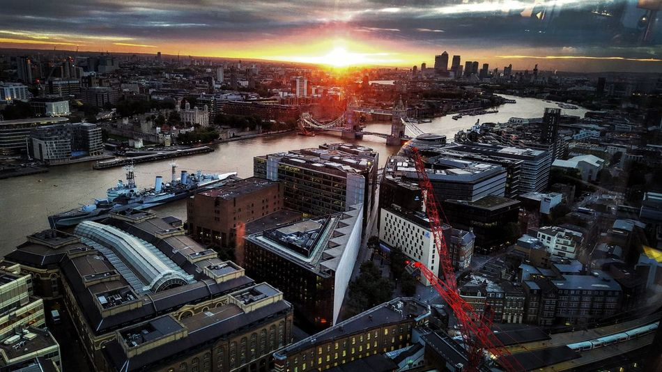 London Lifestyle City View  Sunrise