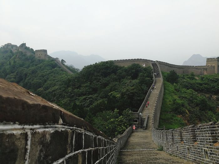 The Greatwall Mountain Sky Nature Tree