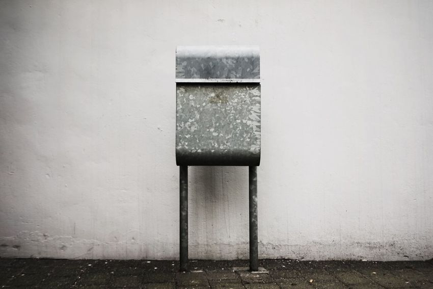Letter Box Post Box  Built Structure Architecture Wall - Building Feature Building Exterior No People Day Outdoors Wall Building Metal Concrete