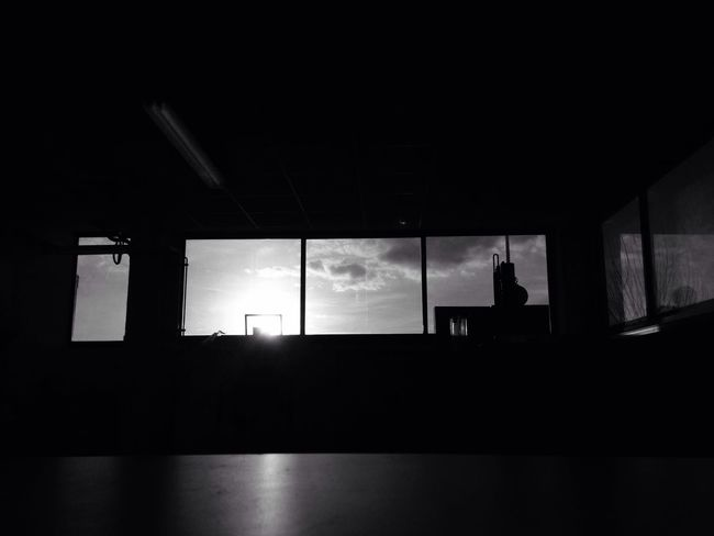 Lights And Shadows Blackandwhite Sunset Afternoon Working
