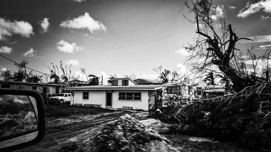 Post Hurricane Irma through the eye of my lens House Blackandwhite Photography Big Pine Key Florida Keys