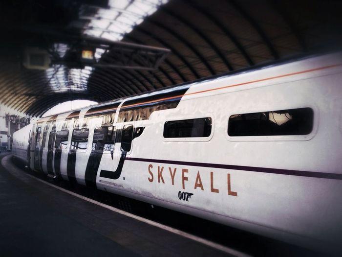 Very cool Skyfall 007 train