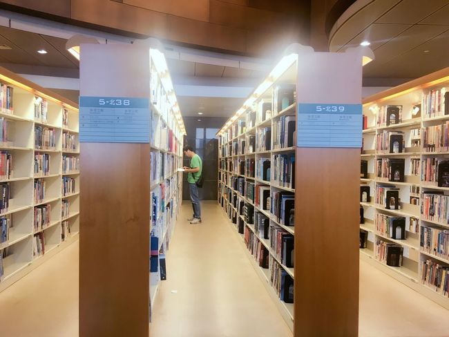 Bookshelf Library Book Education Indoors  Shelf Day