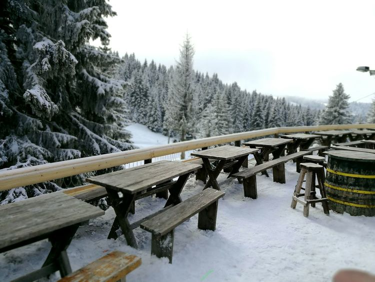 we are now open Winter Snow Mountainview Outdoors Terasse Open EyeEmNewHere