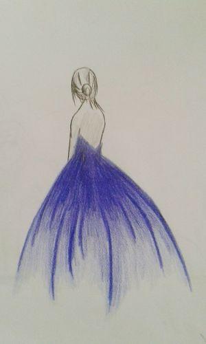 Drawing Bailarina Vestidoazul JoaovitorSRO First Eyeem Photo