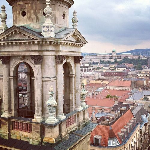 #Basilica #budacastle #budapest #downtown #lumiaphoto Architecture Building Exterior Built Structure City Cityscape Day No People Outdoors Politics And Government Sky Tourism Travel Destinations