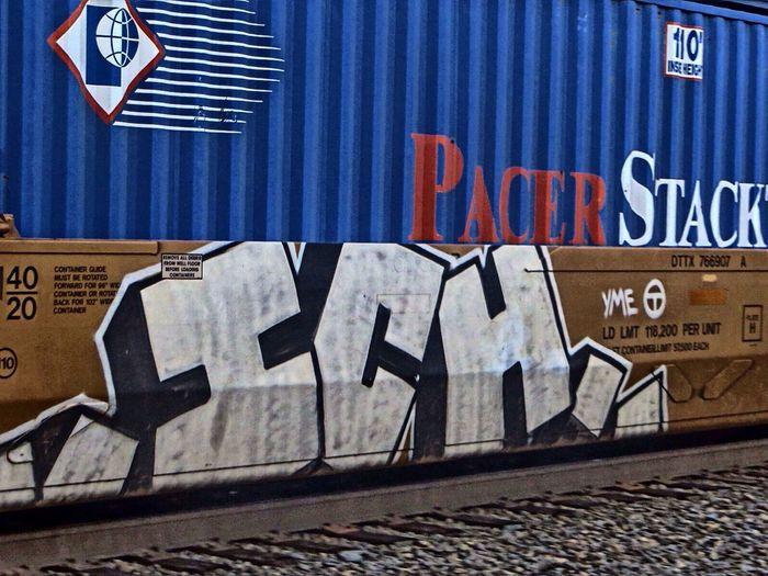 Union Station Little Rock Graffiti Railart Railphotography ICH Ichabod