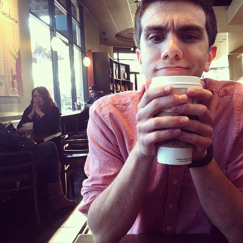 """@havin_g: """"This coffee is really really hot."""" thanks guys for the free coffee! Y'all are so sweet. Starbucks CoffeeOnTheHouse"""