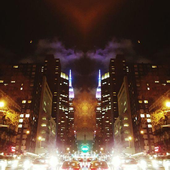 State of mind. Welcometonyc NYC Concretejungle Empirestate Stateofmind Newyork DreamsAreReal NowyoureinNewYork Beautiful Chaos Stranger Yourself Purple Gotham Clouds City Citynights The Architect - 2016 EyeEm Awards