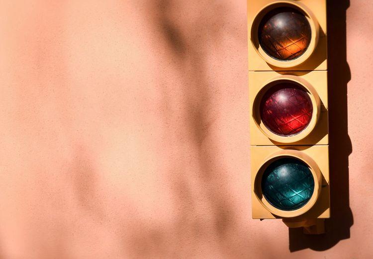 Close-Up Of Traffic Lights
