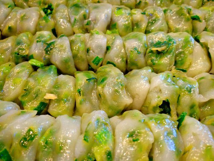 Scrambled กุยช่าย Dumpling  Dim Sum Steamed  Food Staple Stuffed Full Frame Gourmet Backgrounds Close-up Chinese Food Chinese Dumpling Asian Food