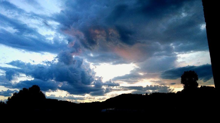 Sunset. Day 2