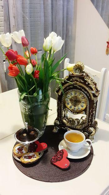 Flowers Laleler Tea Cupcakes Hello World Cake Have A Nice Day♥ ıstanbul, Turkey Tea Time Good Times