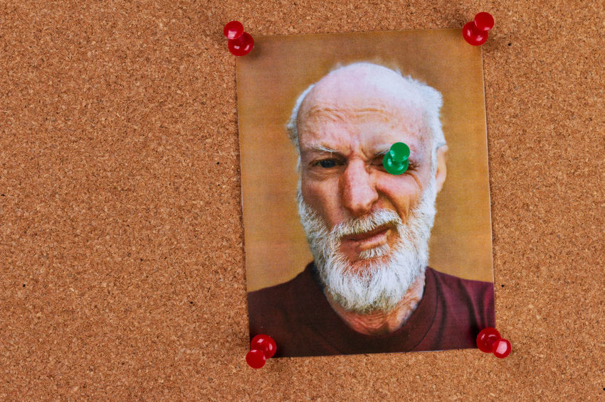 humorous picture on bulletin board with push pins Bulletin Board Humor Pins Adult Beard Cork Board Cork Material Facial Hair Headshot Lifestyles Looking At Camera Message Board Mustache One Person Photocopy Portrait Push Pins Senior Adult The Portraitist - 2018 EyeEm Awards