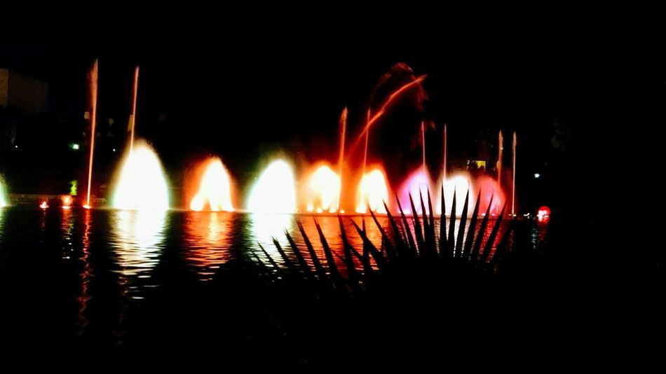 Night Water Illuminated Outdoors No People Reflection Islamagica Legadoexpohoy
