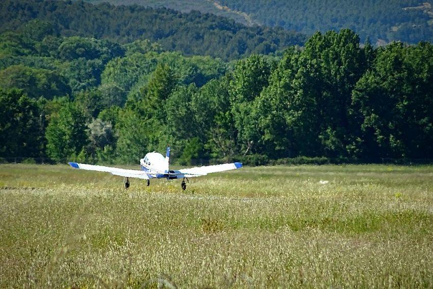 Airplane Atterrissage Aerodrome Aviation Avions Piste