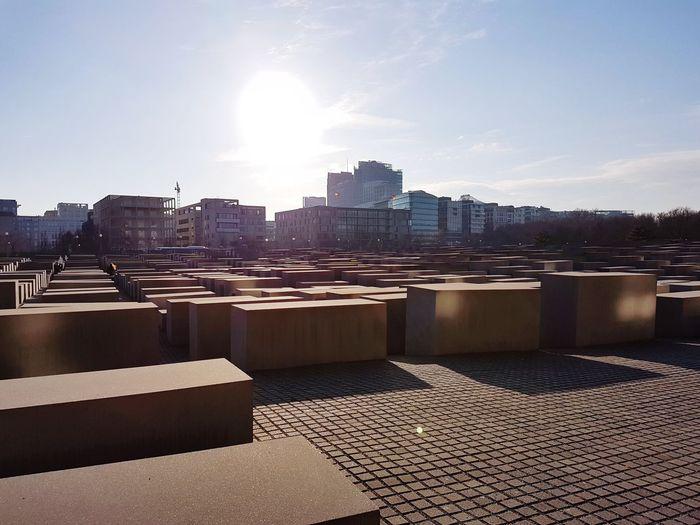 Monumento a los judíos #memorial City Urban Skyline Architecture