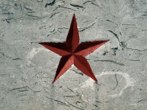 Star Red Star Partisan Red Star Shape