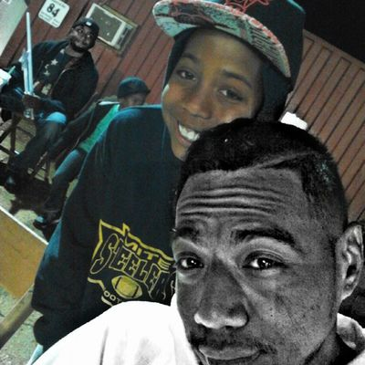 Me and lil'cash