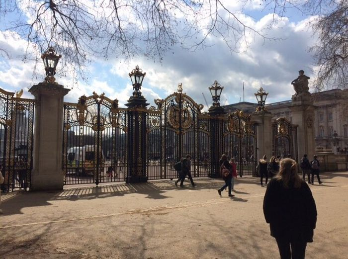 London Culture Gate Buckingham Palace Royal Queen