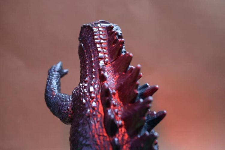 Macro Photography Macro Toys Godzilla Toys
