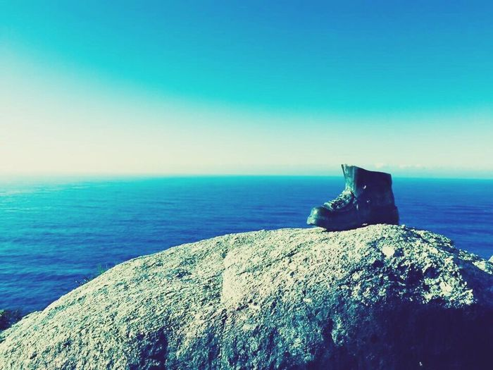 Finisterre Theendoftheworld Boot Sea Iphone 6 IPhoneography Galicia, Spain