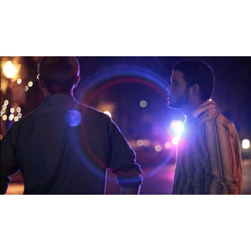 Cannonrebel Night Lights City Sacramento Lensflare Filming Police Car Lights Cinematography