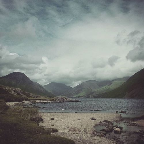 Landscape Landscapehunters Picoftheday Photooftheday lake thelakedistrict lakedistrict cumbria water wastwater clouds scenery igers igdaily