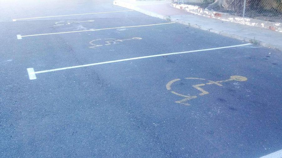 Parking Parkingarea Parking Area Roquetas De Mar España🇪🇸 Minusvalido Aparcamiento No People EyeEm Best Shots EyeEm Gallery