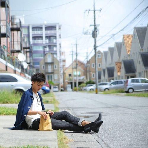 懐かしき沖縄。 Camera Okinawa Model Fashion Snapshots Of Life Canon Fashion&love&beauty Fashion Photography Style Japan Japan Photography Sitting Sky