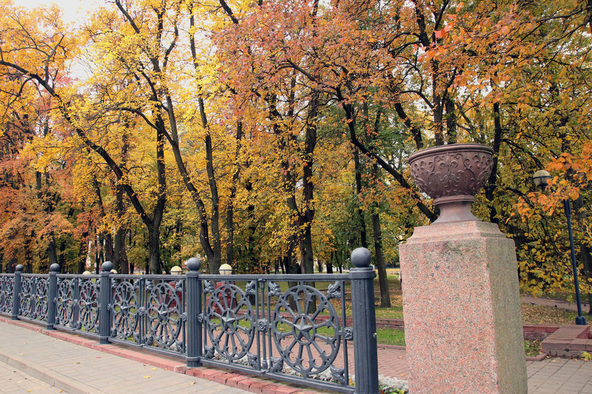 Autumn Autumn Colors Belarus Soviet Era Communist Architecture Soviet Soviet Architecture Travel Destinations