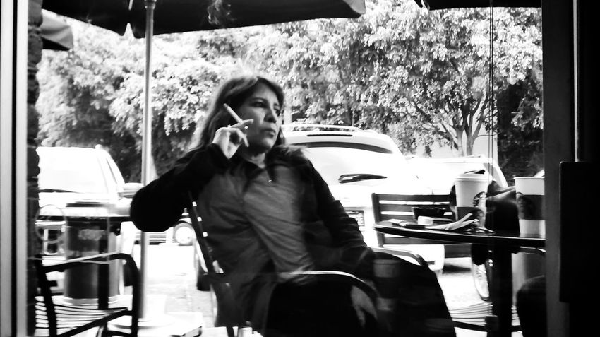 Mexico City, Mexico. 2015. ©Gustavo Mondragon ©La Calle Foto The Street Photographer - 2015 EyeEm Awards Lacallefoto Streetphotography Streetsmexicocity Smoking CdmxStreetphoto_bw Latinstreetphoto Latinstreetcollective Streetportrait
