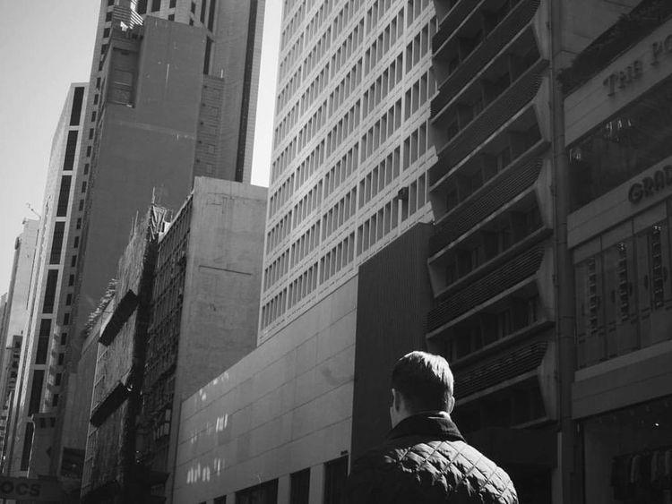 Alone time. Photography Blackandwhite Man Hk