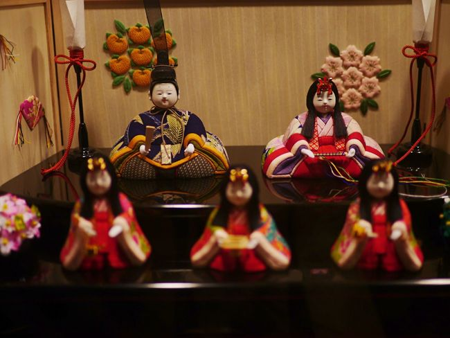 Window Display Night Photography Hina Dolls 雛人形 Japanese Doll ? Good Night EyeEm_crew / GX1+L-X025