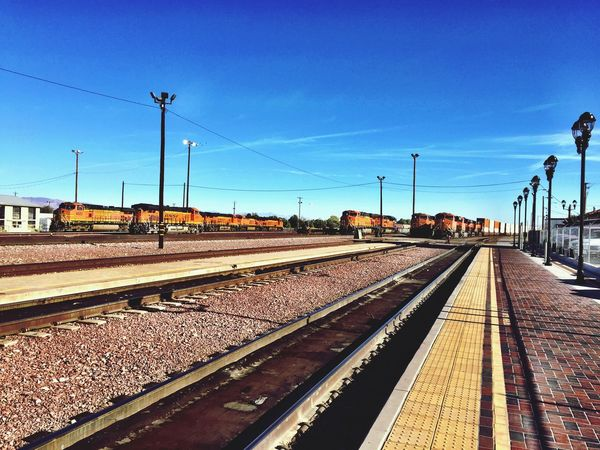 """""""Engine Nirvana"""" Nothin but engine; a plethora of train engines in the BNSF train yard in Needles, California, USA on Route 66. Trainengine Engines Locomotives Trainyard Railroad Railroad Tracks Railway Railroad Station Railyard Traintracks Trains Train Station"""
