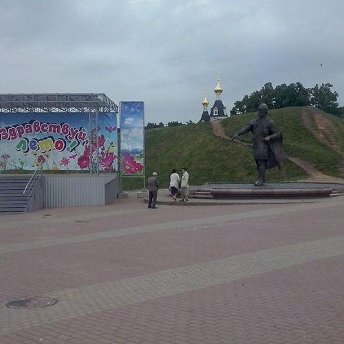 Здравствуй, лето!!! Дмитров я_люблю_дмитров Мой_любимый_город площадь my_lovely_town my_voyage