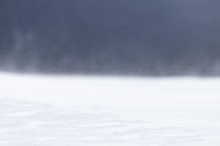 Full frame shot of snow against sky