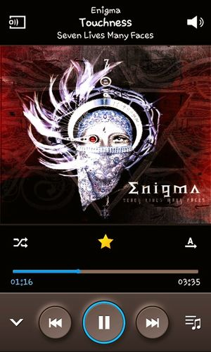 Listen To Music Enigma Touchness Samsunggalaxy Screenshot ♥