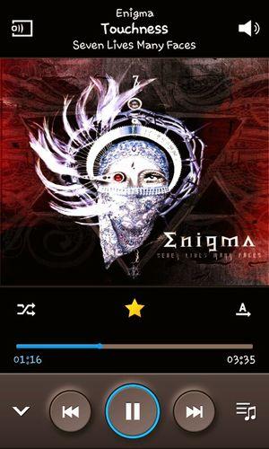 Listen To Music Enigma Touchness Samsunggalaxy Screenshot ♥