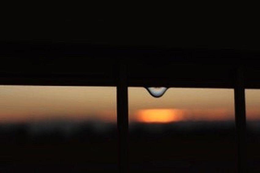 雫 朝陽 朝焼け おはようございます(*'͜' )⋆*雨も上がり気持ちの良い日になりそうです✨