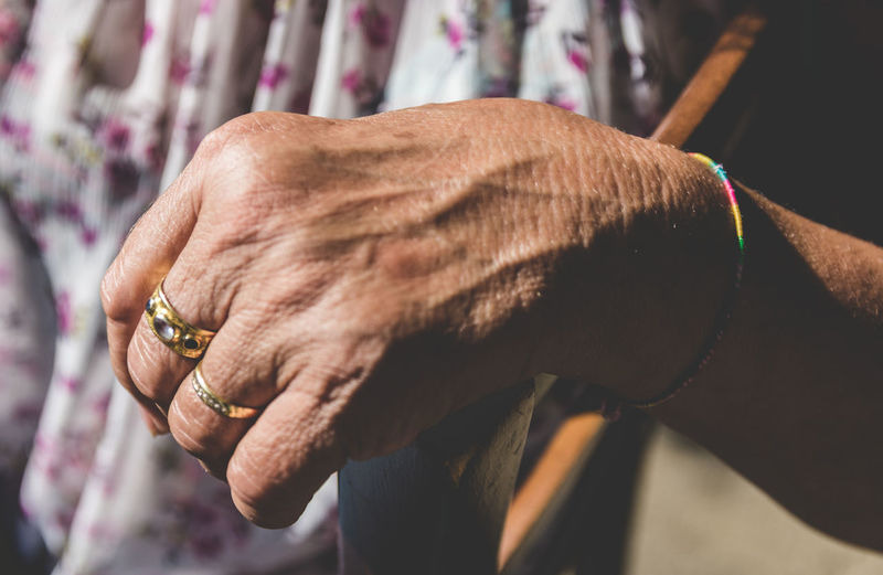 Hand GOLD RING Old Person Old Hands Hard Working History Retired Retirement Close Up Marks Textured  Lifestyles Daylife Life person Human Hand Men Close-up Jewelry Ring Hand Body Part Jewelry Store Finger Jeweller Bracelet Gemstone  Wrist