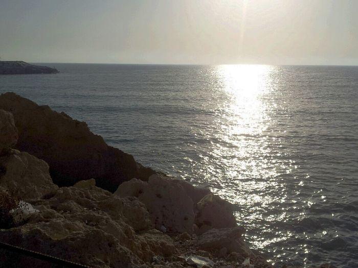 Sea Sunshine Breaking Dawn Swimming :))