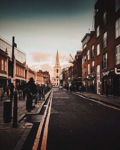 Missing London so much ⚡️ Edited with my lightroom preset Preset Lightroom London Architecture Built Structure City Street Transportation Sky Building City Street Road City Life First Eyeem Photo