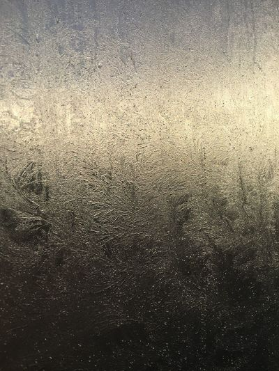 Iceflower Frost Full Frame Backgrounds Pattern Close-up No People Window Indoors  Cold Temperature Condensation Textured