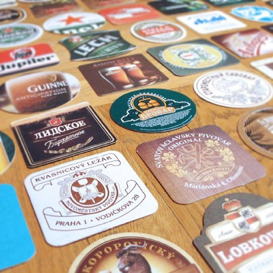 Beer Bierdeckel Beermat Coaster