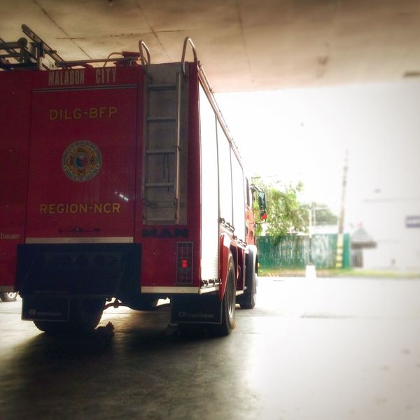 Behind every firetruck is a fireman. First Eyeem Photo EyeEmNewHere Firetruck Shadow Cats